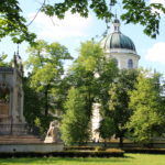 Warschau (PL) – Wilanów-Palast – Das Potocki-Grabmal