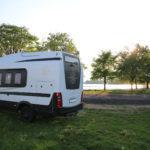 unterwegs nach Dziekanowice (PL) – Stellplatz an einem See