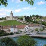 (D) – auf dem Weg zum Rheinfall