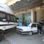 Auf der Weiterfahrt in den Süden der Türkei – das Isemobil hat Motorprobleme