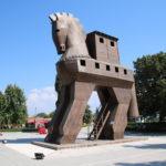 Troja (TR) – das Trojanische Pferd