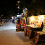 Petrovac na moru (ME) – abends in dem keinen Badeort