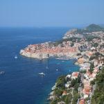 Blick auf Dubrovnik in Kroatien (HR)