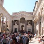 Split (HR) – Diokletianpalast in Split