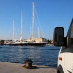 Zadar (HR) – Stellplatz an der Stadtmauer