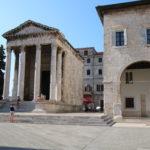 Pula (HR) – Augustus-Tempel
