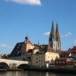 Regensburg (D) – Steinerne Brücke über die Donau