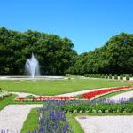 """Prien am Chiemsee (D) – im Park des """"Neuen Schlosses Herrenchiemsee"""""""