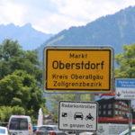 Oberstdorf  (D) – südlichster Ort Deutschlands
