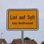 Sylt (D) – der nördlichste Ort Deutschlands