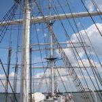 """Stralsund (D) – das Segelschulschiff """"Gorch Fock 1"""""""