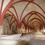 """Eltville am Rhein (D) – im Kloster Eberbach – Drehort zum Film """"Der Name der Rose"""""""