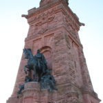 Kyffhäuserdenkmal (auch Barbarossadenkmal) das dem ersten Deutschen Kaiser Wilhelm I. gewidmet ist