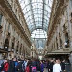 Einkaufsgalerie auf dem Domplatz Mailand