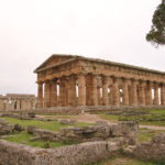 Ruinenstätte Paestum (italienisch Pestum)