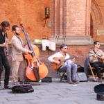 Bologna – Straßenmusikanten