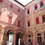 Bologna – Innenhof vom Rathaus