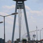 Bratislava (Slowakei) – Brücke des Slowakischen Nationalaufstandes