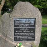 Frombork (PL) – Gedenkstein für die ostpreußischen Flüchtlinge