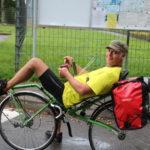 Ein deutscher Held an der russischen-litauischen Grenze – er will noch bis zum Nordkap