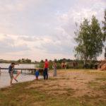 Stellplatz an einem See