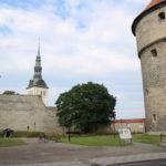 Tallinn (EST) – Stadtmauer zur Altstadt