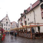 Tallinn (EST) – Regen in der Altstadt