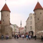 Tallinn (EST) – Blick in die Altstadt