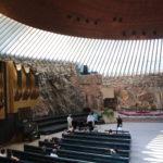 Helsinki (FIN) – in der Felsenkirche