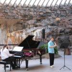 Helsinki (FIN) – Konzert in der Felsenkirche