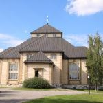 Mikkeli (FIN) – Hölzerne Doppelkreuzkirche