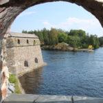 Savonlinna (FIN) – auf der Burg Olavinlinna