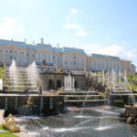 St. Petersburg (RUS) – Schloss Peterhof – Blick zur der Großen Kaskade