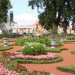 """St. Petersburg (RUS) – Schloss Peterhof – Der Palast """"Monplaisir"""""""