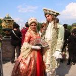 St. Petersburg (RUS) – Schloss Peterhof – mit denen habe ich ein Foto gemacht