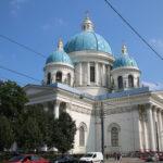 St. Petersburg (RUS) – Kirche beim Stellplatz