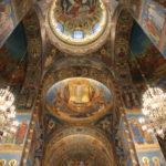 St. Petersburg (RUS) – in der Blutkirche – alles Mosaiken