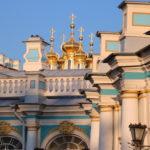Puschkin (RUS) –  Katharinenpalast (Zarskoje Selo) – erster Eindruck von außen