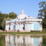 Puschkin (RUS) –  im Katharinenpark  –  der Grotto Pavillon