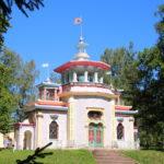 Puschkin (RUS) –  im Katharinenpark  –  das Sommerhaus