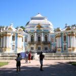"""Puschkin (RUS) –  im Katharinenpark  –  Pavillon """"Hermitage"""""""
