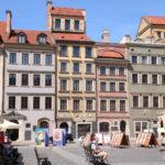 Warschau (PL) – Altstadt der Marktplatz