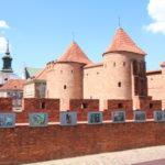 Warschau (PL) – an der Stadtmauer