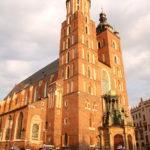 Krakau (PL) – in der Altstadt, die Marienbasilika