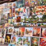 Krakau (PL) – in der Altstadt – Bildergalerie nahe dem Barbakan