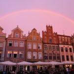 Posen (PL) – Regenbogen über dem alten Markt