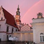 Posen (PL) – Regenbogen über dem Rathaus