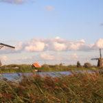 Kinderdijk (NL) – der Deich der Windmühlen