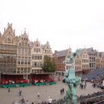 Antwerpen (B) –  der Grote Markt mit Brabobrunnen