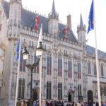 Brügge (B) – Rathaus auf dem Marktplatz